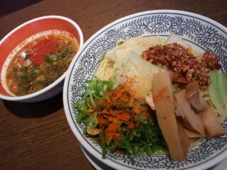 食べるラー油 激辛つけ麺
